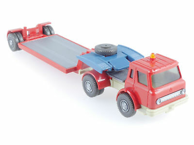 Wiking 722/1 B International Harvester Tieflader LKW Rot TOP 1606-19-17