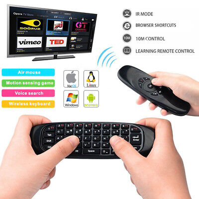 Remote Control 3D Gyroscope Wireless Air Mouse For Smart Android TV Box PC