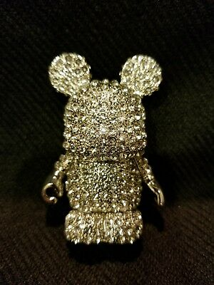 Disney Vinylmation 60Th Anniversary Clear Silver Diamond