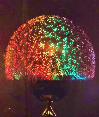 VTG Fantasia Sunburst 4000 Fiber Optic Lamp, Light With  custom wheel, ex bulb