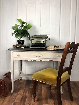 *SALE* Antique Painted Desk, Console Table, Hall Table