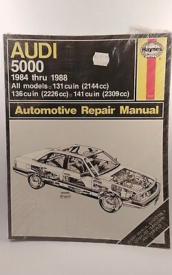 Audi 5000 5000S Service Repair Manual 1984-88 Haynes Includes Turbo & Wagon NIP