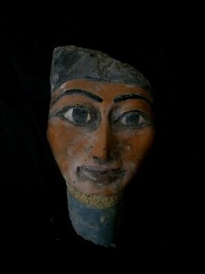 ANCIENT EGYPT EGYPTIAN ANTIQUES Ptah God of Creation MASK STATUE STONE 3000 BC
