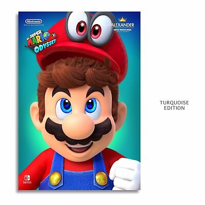 Super Mario Odyssey Poster Pauline Game Art Silk Canvas Poster 13x18 24x32 inch