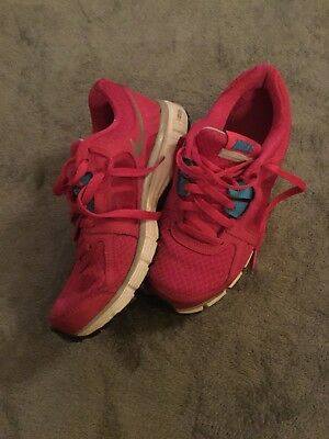 8d40a90048947 NIKE DUAL FUSION ST2 Women's Size 8.5 Running Shoes Sneakers 454240-600 Pink