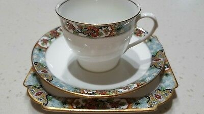 Cup and saucer aynsley vintage tea set trio