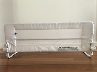 Childcare Bed Rail - White 102cm Great Used Condition