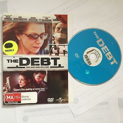 Debt,  The (DVD, 2012) ExRental ACTION No Case, Disk & Sleeve ONLY