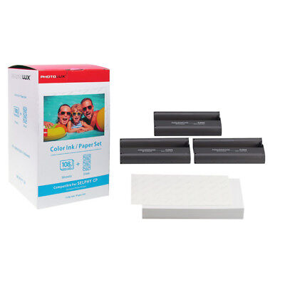 KP-108IN Compatible for Canon CP1000 CP910 Selphy Color Photo Paper Ink 4x 6