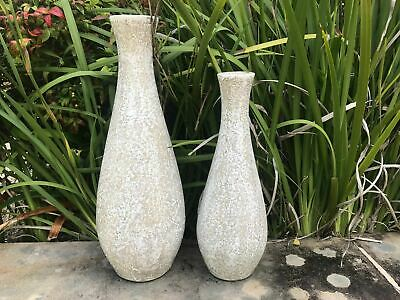 Natural antique vase set