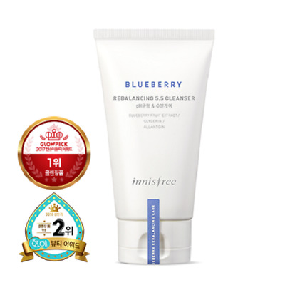 Innisfree Blueberry Rebalancing 5.5 Cleanser - 100ml (FREE SHIPPING)