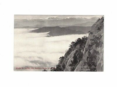 Australia Postcard, Mists in Valley MT BUFFALO Vic