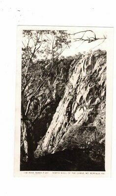 Australia Postcard, North Wall of the Gorge MT BUFFALO  Vic