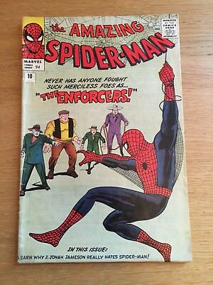 THE AMAZING SPIDER-MAN #10 - First Enforcers