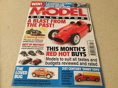 Model Collector magazine Sep 2018 Ferrari Austin Junior Forty Penfro Peche Volvo
