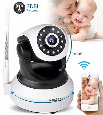 HOT 720P HD Home Video Baby Monitor IP Camera Wireless IR Night Vision Wifi cam