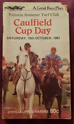 1983 Vatc Caulfield Cup Race Book
