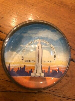 EMPIRE STATE BUILDING Paperweight- Vintage