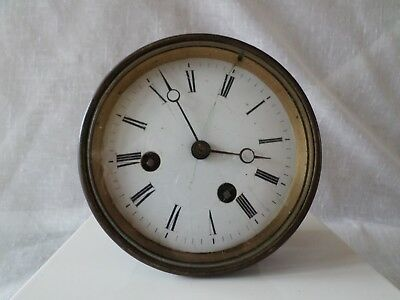 Antique Vintage French Mantle Clock/part Movement