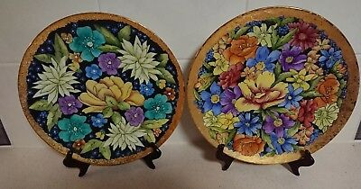 Collectable Hand Painted Plates Ornamental China Plates