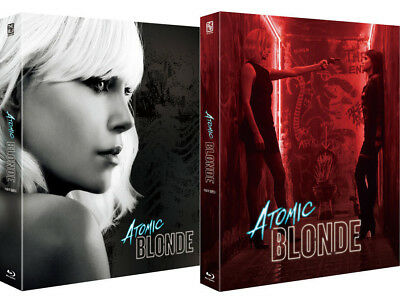Atomic Blonde - Blu-ray Steelbook Full Slip, Lenticular Limited Edition  The BLU