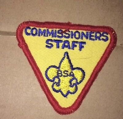 Boy Scout National Commissioner Patch Rare