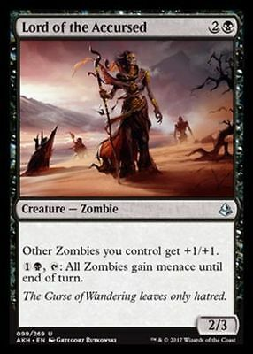 1x LORD OF THE ACCURSED - Rare - Amonkhet - MTG - NM - Magic the Gathering