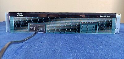Cisco 2921 router CISCO2921/K9 v06 with rack mounts and power cord