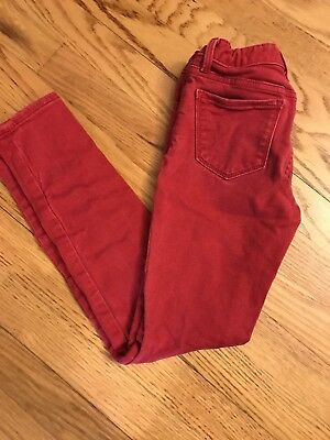 Gap Kids Super Skinny Fit Red Jeans, SZ 8 Regular