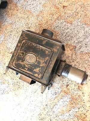 Antique Ernst Plank EP Magic Lantern Incomplete for Parts or Repair As Is