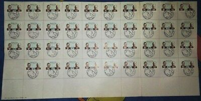 Set all 39 Malta Gozo Post Offices First Day of Issue Handstamps 1989 10c stamps