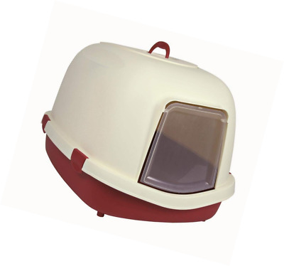 Trixie Primo Cat Litter Tray with Hood/Flap/Handle, X-Large, 71 x 56 x 47 cm, Bo