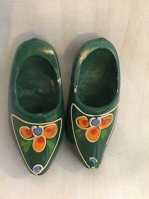 Collecter Miniature Wooden Shoes
