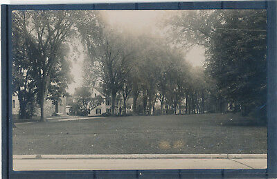"""Watertown CT """"The Green"""" RPPC real photo picture postcard Waterbury"""