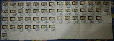 Set all 49 Malta Gozo Post Offices First Day of Issue Handstamps 1996 5c stamp