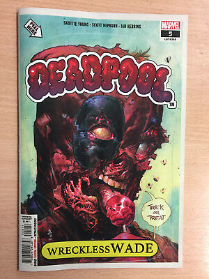 Deadpool #5 Halloween Garbage Pail Kids Homage Cover - Sold Out