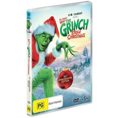 How THE GRINCH Stole Christmas DVD RARE Dr. Seuss CHRISTMAS MOVIES BRAND NEW R4