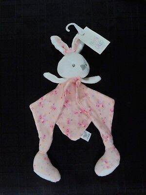 New Boots Mini Club Baby Bunny Rabbit Comforter Soother Doudou Bnwt