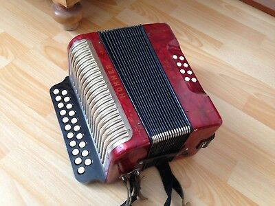Akkordeon Hohner Erica, ca. 60 Jahre alt, made in germany