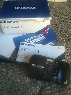Olympus mju 1 I  35mm Compact Film Camera with 35mm f3.5 lens