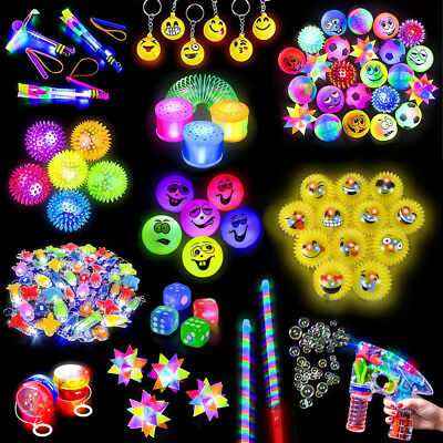 German Trendseller® - Mega LED - Light Up - Auswahl Mix - Set | Mitgebsel Licht