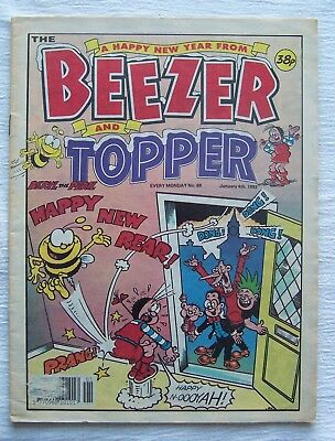 Beezer/topper  New  Year 1992 – Super Seasonal – Vf!!!