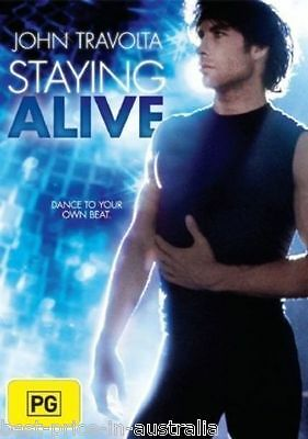 Staying Alive DVD DRAMA MUSIC ROMANCE John Travolta BRAND NEW Region 4