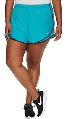 98d80ea7d018a NIKE WOMENS PLUS Size Tempo Dri Fit Shorts Industrial Blu Binary Blu ...
