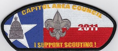 Capitol Area Council 2011 I support scouting!
