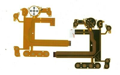 Keyboard Button Rear back Cover LCD Flex Cable for Nikon D7000