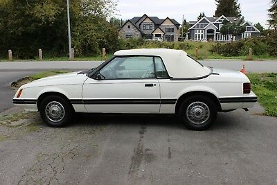 1983 Ford Mustang  1983 Ford Mustang GLX Survivor Car 18000 Original Miles  OBO Call 778-883-9978