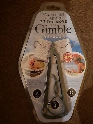 Hands Free Reading With Gimble Traveller - New