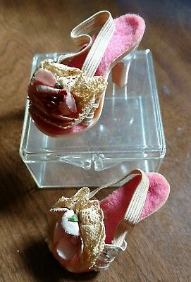 Vintage Madam Alexander High Heel Boudoir Doll Shoes for Cissy