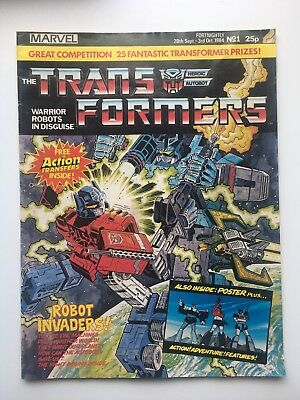 Transformers Marvel UK comic issue #1